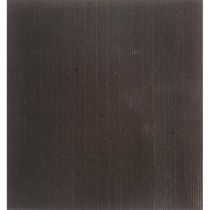 Immagine di Pavimento in gomma SBR, spessore 3 mm, h 1,25 mt, peso 4 kg/m², colore nero, superficie millerighe