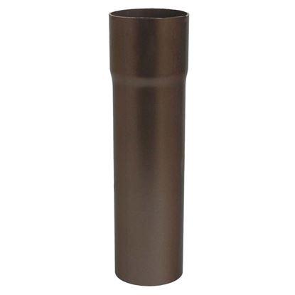 Immagine di Tubo Tecno Imac, discendente, colore marrone, Ø 80 mm, 207 cm