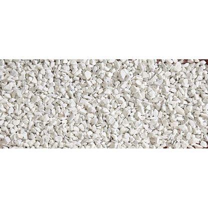 Immagine di Granulato Zandobbio, bianco Carrara, 8/12 mm, confezione 20 kg