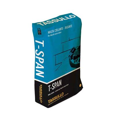 Immagine di Collante rasante Tassullo, per blocchi calcio silicei, sacco da 25 kg
