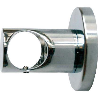 Immagine di Supporto chiuso, Easy Contemporaneo, fissaggio a soffitto, Ø mm 20x3,5 cm, nickel