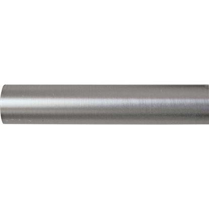 Immagine di Bastone tenda, Easy Contemporaneo, in ferro, Ø mm 20x200 cm, nickel