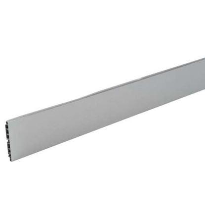 Immagine di Zoccolo cucina, colore alluminio, 150x3000 mm