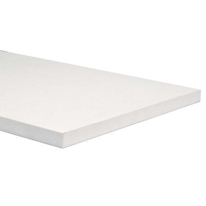 Immagine di Mensola, melaminico, bianca, 18x600x400     mm