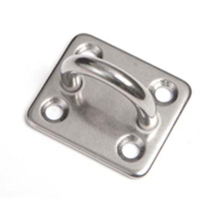 Immagine di Piatto con occhio, acciaio inox AISI 316, 5 mm