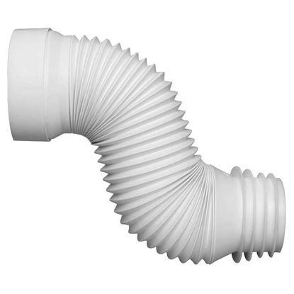 Immagine di Manicotto WC estensibile Wirquin, PP, Ø 100/110 mm, 230/550 mm