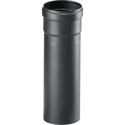 Immagine di Tubo per stufa a pellet, Ø 80 mm, colore nero, 25 cm