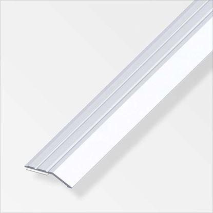 Immagine di Profilo di chiusura autoadesivo, 30x5 mm, 1,0 mt, alluminio argento