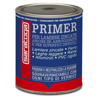 Immagine di Ancorante Saratoga, per lamiere zincate, ferro, leghe leggere, alluminio, rame, PVC rigido e vetroresina, 1 lt