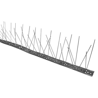 Immagine di Dissuasore per volatili, in acciaio inox, 2,7x100 cm