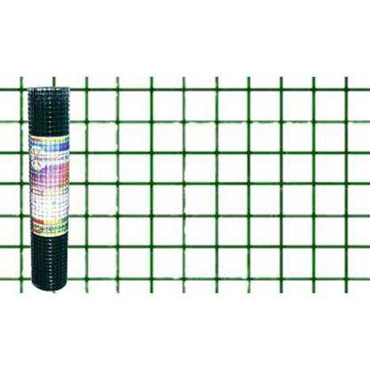 Immagine di Rete plastificata verde, maglia 13x13 mm, rotolo cm 100x5 mt