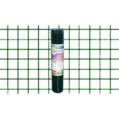 Immagine di Rete plastificata verde, maglia 13x13 mm, rotolo cm 80x10 mt