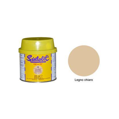 Immagine di Stucco, Sintolit, per legno, 0,75 lt, colore legno chiaro/scuro