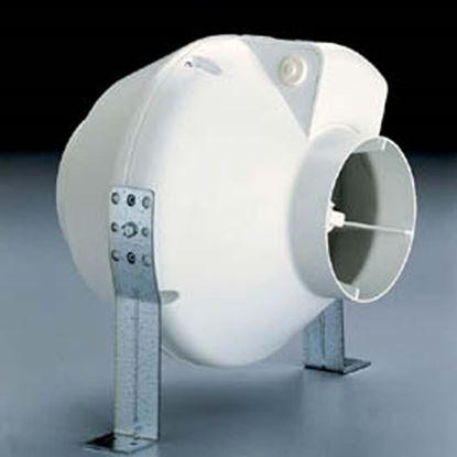 Immagine di Aspiratore centrifugo assiale, resina autoestinguente, Ø100 mm