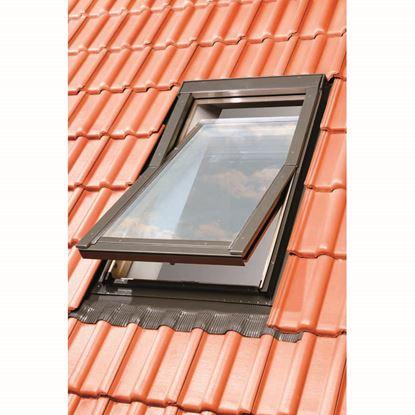 Immagine di Raccordo in acciaio per finestra da tetto 66x118 cm