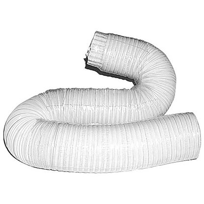 Immagine di Tubo alluminio compresso, colore bianco, 1x3 mt, Ø 110 mm