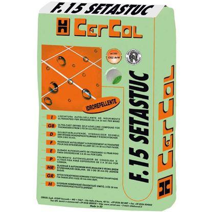 Immagine di Stucco, Setastuc, idrorepellente, antimuffa, 0-6 mm, 5 kg, colore testa di moro