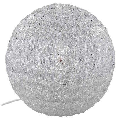 Immagine di Lampada da tavolo Sfera, acrilico trasparente, Ø25 mm