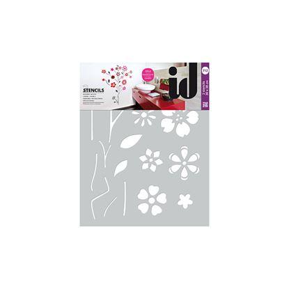 Immagine di Stencil doppi,  30x38, fiori