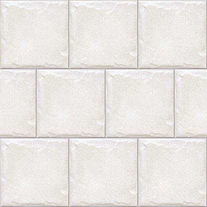 Immagine di Rivestimento country 10x10 cm, monocottura, spessore 8,5 mm, confezione 0,88 m², colore bianco