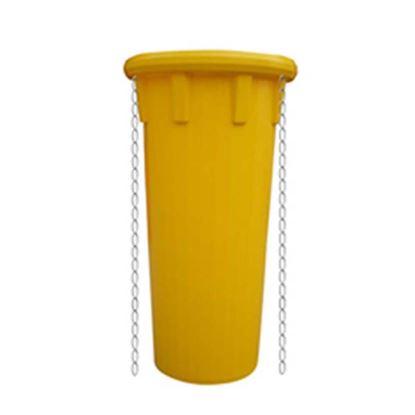 Immagine di Tubo prolunga scarica detriti, completo di n° 2 catene di collegamento, colore giallo