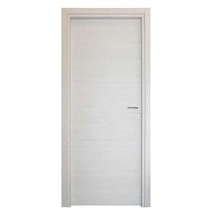 Immagine di Porta Agata reversibile color acero neve, battente, 80x210 cm