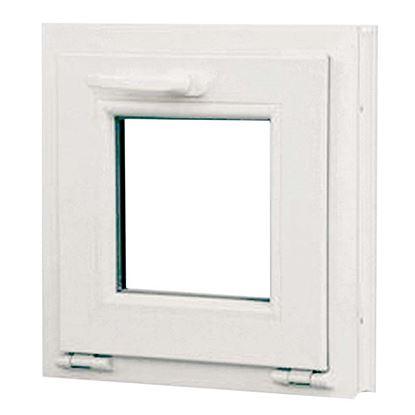 Immagine di Finestra pvc 1 anta vasistas 6 camere, doppio vetro, 60x60 cm, colore bianco