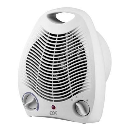 Immagine di Termoventilatore 2 regolazioni di potenza 1000/2000 W, termostato ambiente regolabile, 19x11xh27 cm