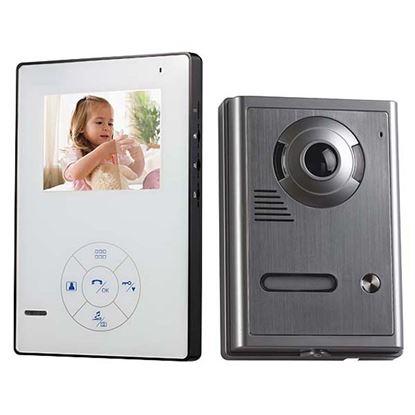 """Immagine di Videocitofono Zodiac colori VVR-4.3INC, 4,3"""", senza fili"""