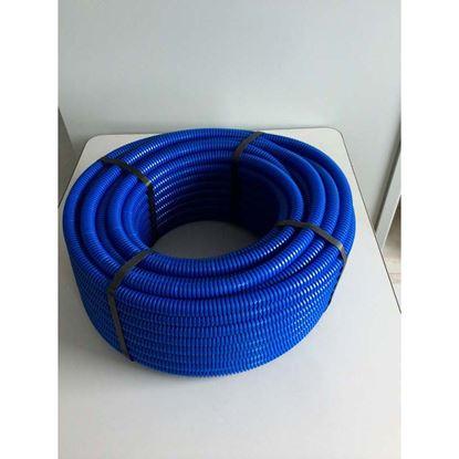 Immagine di Tubo corrugato BLU bobina 100 m Ø20 mm