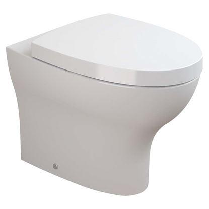 Immagine di Vaso Pop Art 43x36 cm, in ceramica, colore bianco