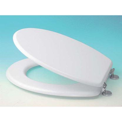 Immagine di Sedile WC universale, colore bianco