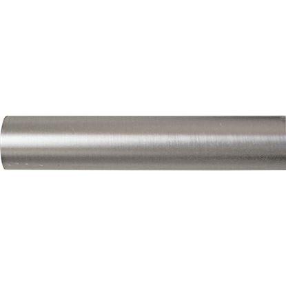 Immagine di Bastone tenda, Easy Contemporaneo, in ferro, Ø mm 20x240 cm, nickel