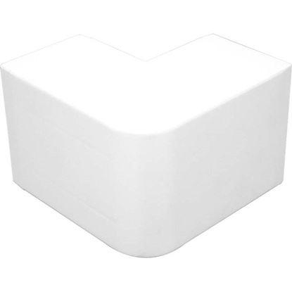Immagine di Angolo esterno, colore bianco, 100x60 mm