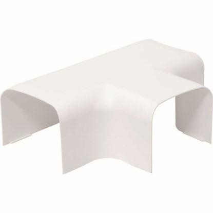 Immagine di Deviazione a T, colore bianco, 65x50 mm