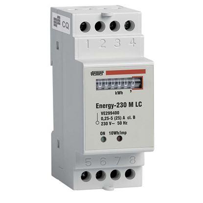 Immagine di Contatore di energia, meccanico, 2 moduli DIN, alimentazione 230 V