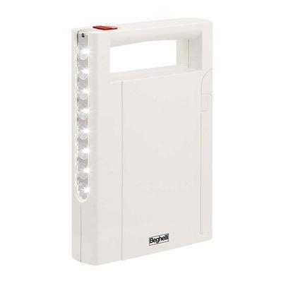 Immagine di Lampada emergenza Beghelli, Illumina led, portatile, ricaricabile, anti black-out, 8 led, 21 lumen