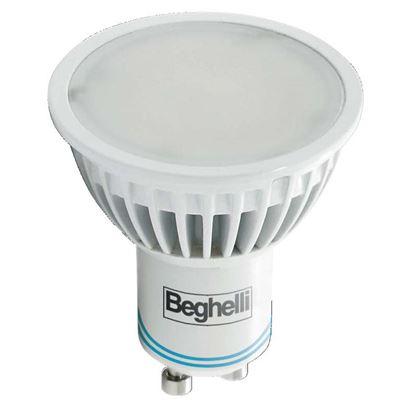 Immagine di LAMPADA EMERGENZA A LED BEGHELLI, GU10, 4W, 230V, 2 ORE DI AUTONOMIA, 4000°K, LUCE FREDDA