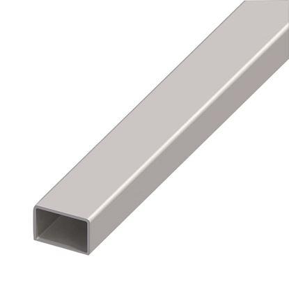 Immagine di Tubo acciaio rettangolare, spessore 2 mm, 40x25 mm, 2 mt